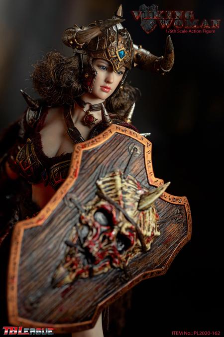 【TBLeague】TBリーグ PL2020-162 1/6 Viking Woman ヴァイキング・ウーマン 女性戦士 1/6スケール シームレス女性ボディフィギュア
