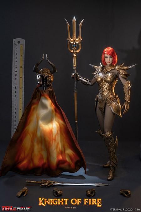 【TBLeague】TBリーグ PL2020-173A 1/6 Knight of Fire Golden ナイト・オブ・ファイアー 女性騎士 ゴールド