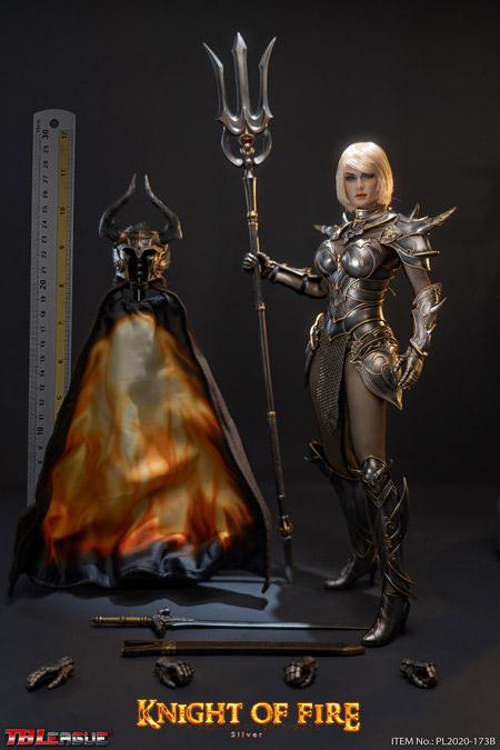 【TBLeague】TBリーグ PL2020-173B 1/6 Knight of Fire Silver ナイト・オブ・ファイアー 女性騎士 シルバー