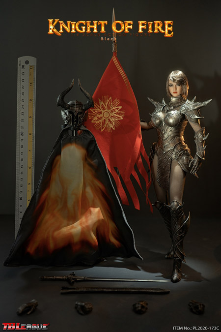 【TBLeague】TBリーグ PL2020-173C 1/6 Knight of Fire Black ナイト・オブ・ファイアー 女性騎士 ブラック