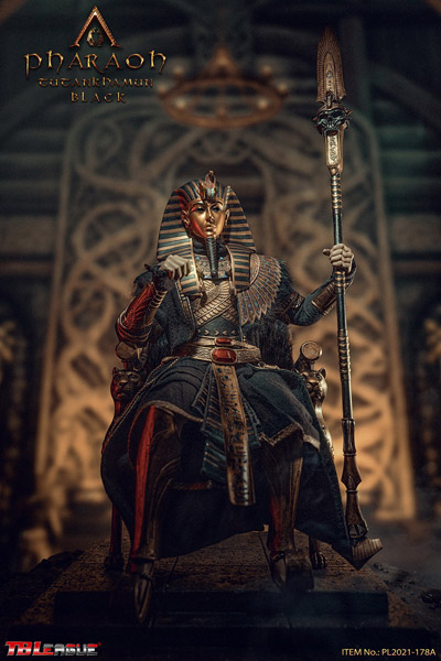 【TBLeague】TBリーグ PL2021-178A 1/6 Pharaoh Tutankhamun BLACK 古代エジプト第18王朝ファラオ ツタンカーメン ブラック版