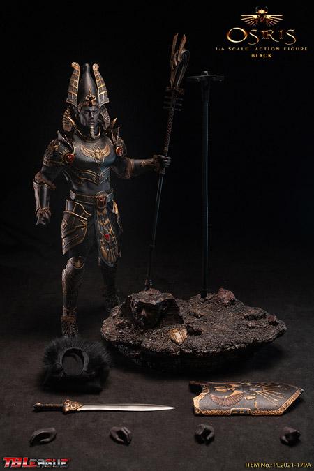 【TBLeague】TBリーグ PL2021-179A Osiris - Black 1/6 Scale Action Figure エジプト神話 オシリス神 ブラック