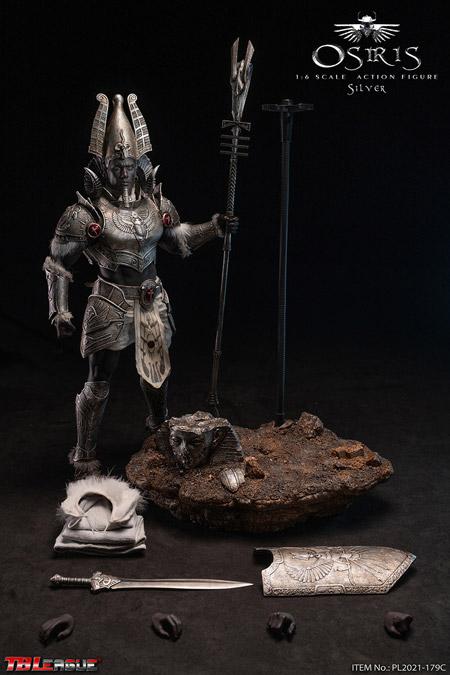 【TBLeague】TBリーグ PL2021-179C Osiris - Sliver 1/6 Scale Action Figure エジプト神話 オシリス神 シルバー