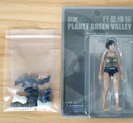 【OUYING STUDIO】1/18 PLANET GREEN VALLEY 行星緑谷 Female BODY プラネットグリーンバレー 女性 1/18スケール 女性ボディフィギュア