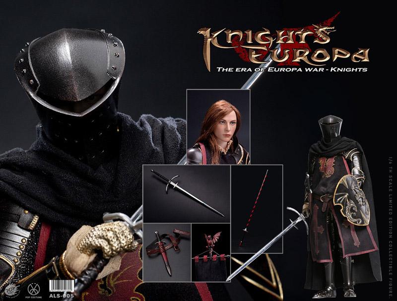 【POPtoys】ALS005 1/6 Armor Legend Series-The Era of Europa War Dragon Knight ドラゴン・ナイト 女騎士 1/6スケール女性フィギュア