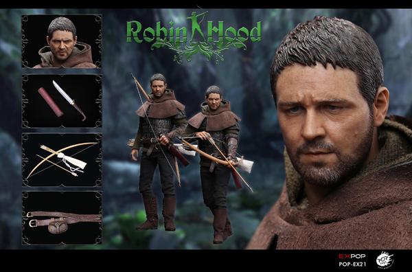 【POPtoys】EX021A Chivalrous Robin Hood ロビンフッド 1/6スケール男性フィギュア