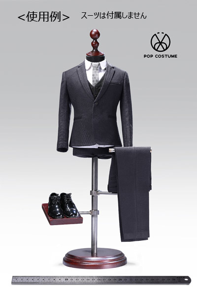 【POPtoys】EY04 showing stand for 1/6th figure clothing suit 1/6スケール 男性スーツ用 トルソー マネキン スタンド