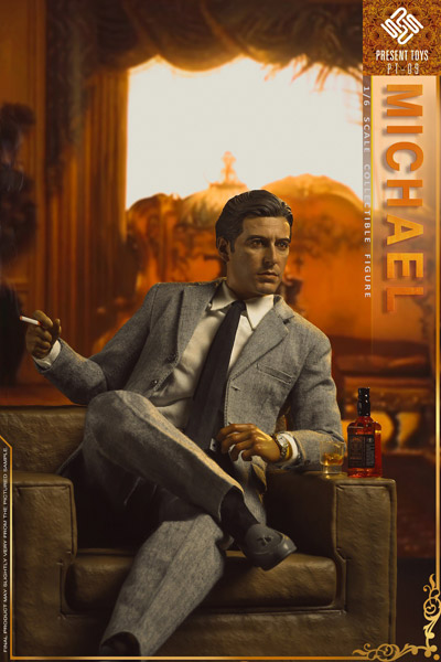 【PRESENT TOYS】PT-sp09 1:6 Collectible Figure The second Mob Boss ボス2 1/6スケールフィギュア