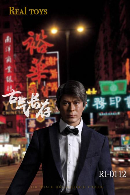 【REAL TOYS】RI-0112 1/6 Koo 香港スター 1/6スケール男性フィギュア