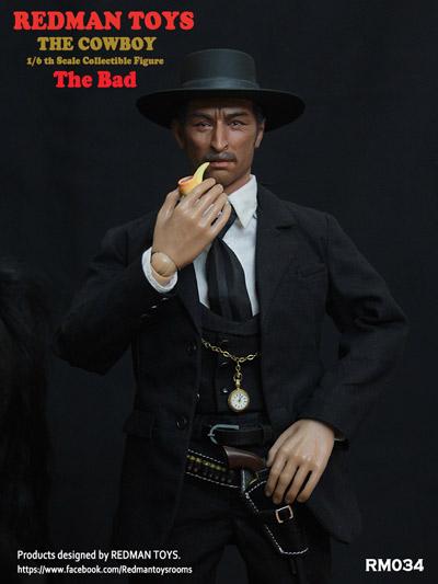 【REDMAN】RM034 The COWBOY The Bad カウボーイ 悪玉 1/6スケールフィギュア