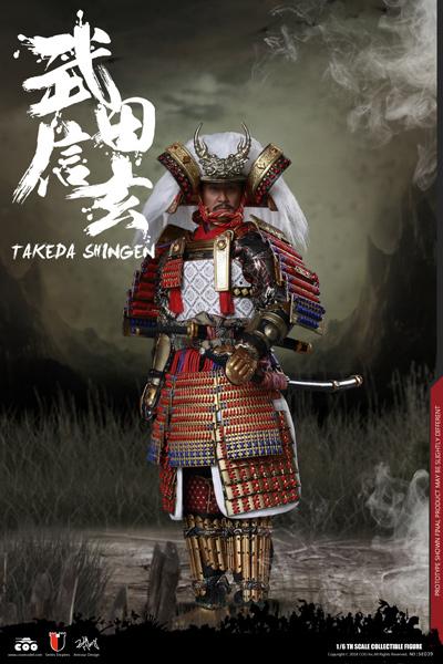 【COO】SE039 1/6TAKEDA SHINGEN A.K.A. TIGER OF KAI (STANDARD VER.)  甲斐之虎 武田信玄 通常版 1/6スケールフィギュア