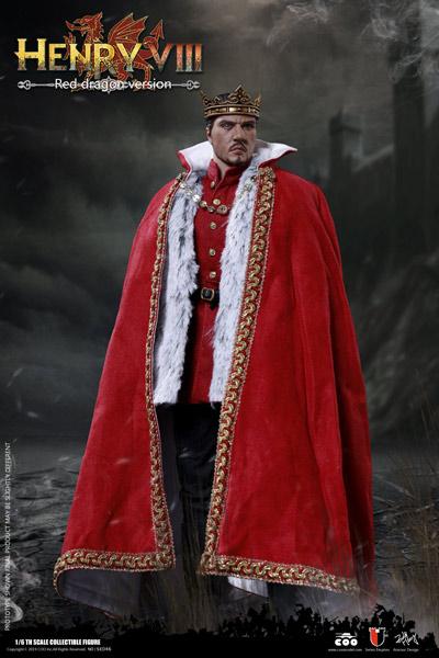 【COO】SE046 1/6 ヘンリー8世 (イングランド王) レッド・ドラゴン版 1/6スケールフィギュア