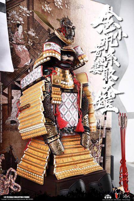 【COO】SE063 1/6 SERIES OF EMPIRES (DIECAST ARMOR) - GOLD DRAGON ARMOR  (LEGENDARY VERSION) 金小札黄系妻取大鎧 伝奇Ver.