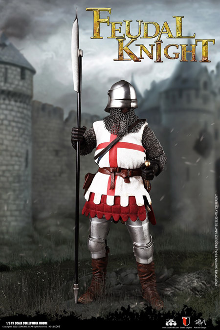 【COO】SE065 1/6 SERIES OF EMPIRES(DIECAST ARMOR) - FEUDAL KNIGHT フューダル ナイト 1/6スケールフィギュア