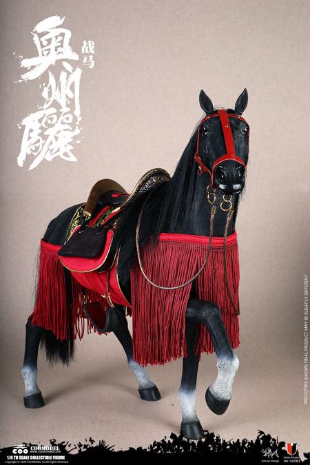 【COO】SE083 1/6 SERIES OF EMPIRES - AUSHIUGUMA (STANDARD VERSION) 奥州驪 (おうしゅうぐろ) 軍馬 1/6スケールフィギュア