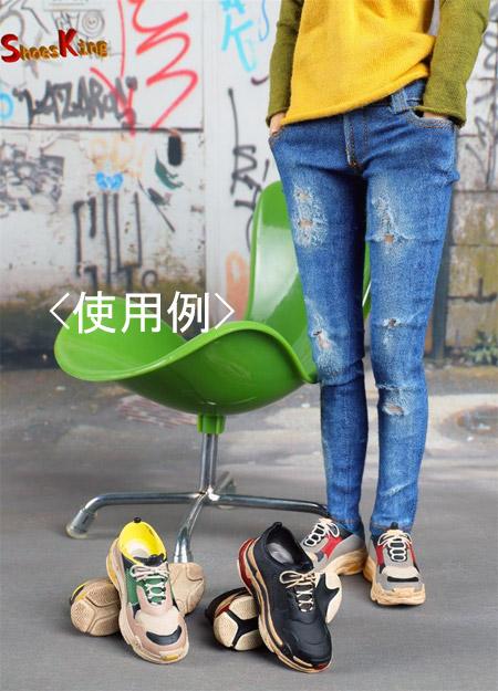 【Shoes King】1/6 SK010 スニーカー 1/6スケール シューズ