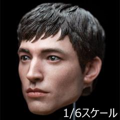 【S.KING.S】SKS-002 1/6 Headsculpt 1/6スケール 男性ヘッド hk-4823