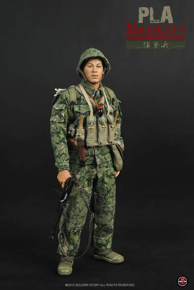 【Soldier Story】1/6 PLA Counterattack against Vietnam in Self-Defens 1979 対越自衛反撃戦 偵察兵