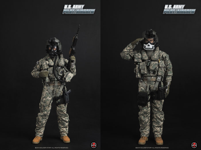 【Soldier Story】SS087 1/6 U.S. ARMY PILOT/AIRCREW アメリカ陸軍 パイロット/エアクルー