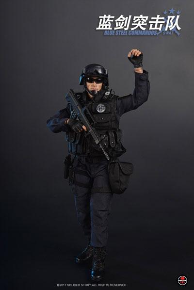 【Soldier Story】SS099 1/6 Blue Steel Commandos SWAT ブルースチールコマンド 北京市公安局特警部隊 藍剣突撃隊