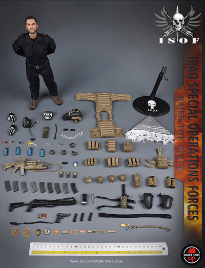 【Soldier Story】SS105 1/6 Iraq Special Operations Forces ISOF イラク特殊作戦部隊 1/6スケールミリタリーフィギュア