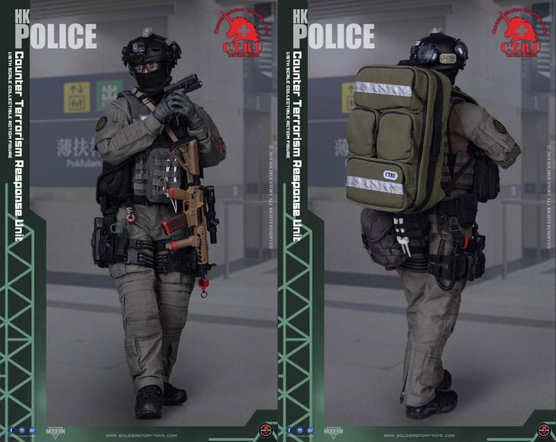 【Soldier Story】SS116 1/6 HK POLICE CTRU Tactical Medic 香港警察 反恐特勤隊 タクティカル・メディック