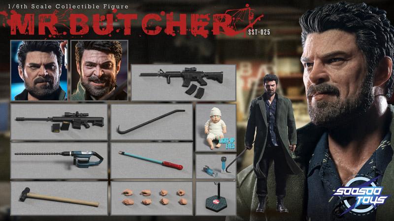 【Soosootoys】SST-025 Mr. Butcher 1/6スケール 男性フィギュア