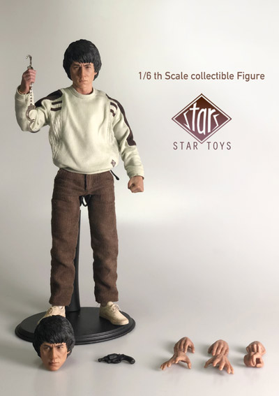 【Star toys】STT-001 1/6 香港警察 - 陳Sir 1/6スケール男性フィギュア