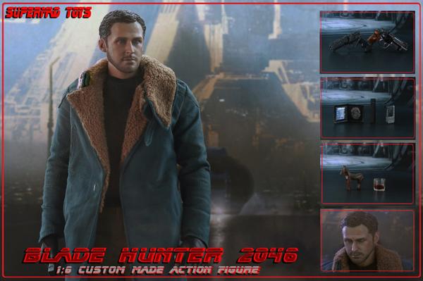 【SUPERMAD TOYS】Blade Hunter 2046 Hunter K ブレード・ハンター 1/6スケールフィギュア