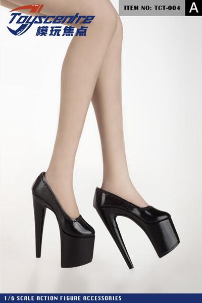 【TOYSCENTRE】TCT-004 AB Women's High Heels 女性ドール用ハイヒール 1/6スケール 女性用シューズ