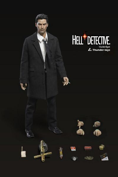 【Thundertoys】TD2020A HELL DETECTIVE Normal version 探偵 1/6スケール男性フィギュア