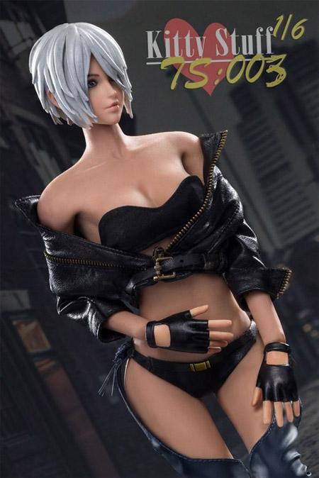 【Kitty Stuff】TS003 1/6 Lady Justice 正義女神 1/6スケール シームレス女性ボディフィギュア