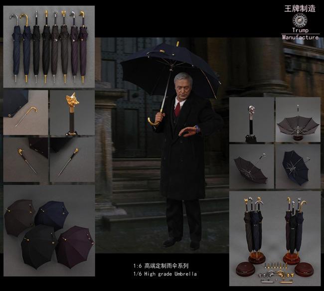【TrumpManufacture】1:6 High grade Umbrella S01-S04 G05-G08 1/6スケール 傘