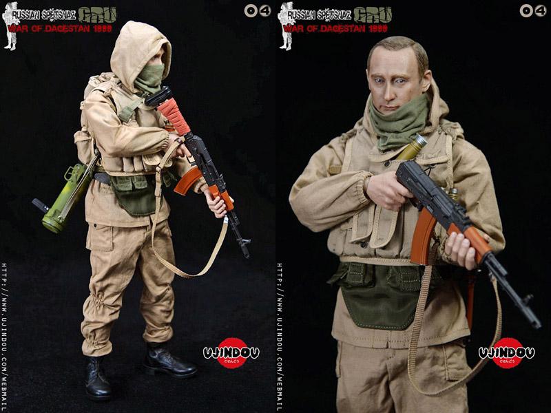 【UJINDOU】UD9004 1/6 RUSSIAN SPETSNAZ GRU WAR OF DAGESTAN 1999 スペツナズ ロシア連邦軍参謀本部情報総局 ダゲスタン侵攻1999