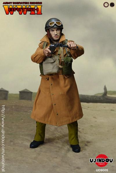 【UJINDOU】UD90005 1/6 WW2 British Army Dispatch Riders WW2 イギリス陸軍 伝令兵 ディスパッチライダー