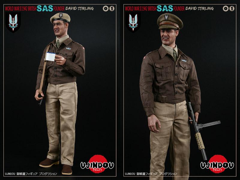 【UJINDOU】UD90001 1/6 WW2 BRITISH SAS FOUNDER DAVID STIRLING 1942