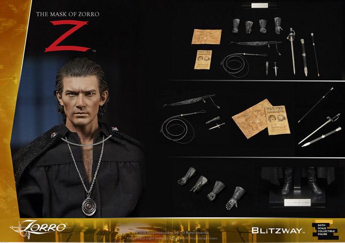 【BLITZWAY】UMS11101 The Mask of Zorro 1998 Zorro / Alejandro Murrieta マスク・オブ・ゾロ アレハンドロ・ムリエッタ / 二代目ゾロ