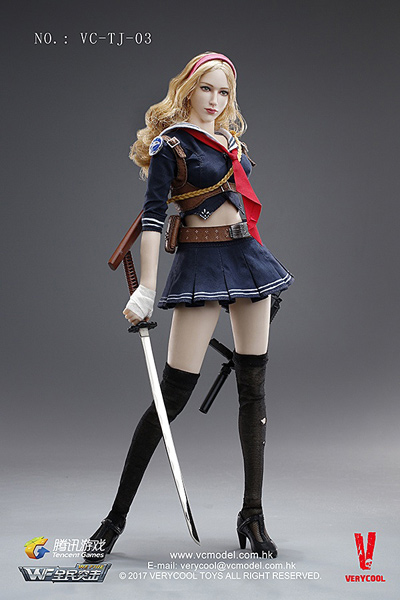 【VeryCool】VC-TJ-03 Wefire of Tencent Game Third Bomb 1/6 Blade Girl ブレードガール 1/6スケールフィギュア