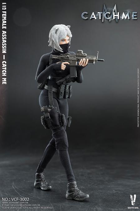【VeryCool】VCF-3002 1/12 Palm Treasure Series — Female Assassin