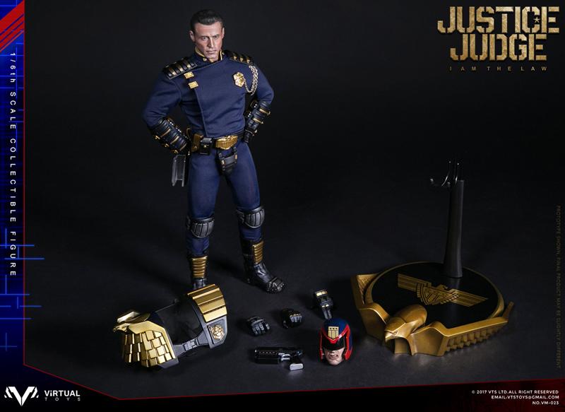 【VTS】VM-023 JUSTICE JUDGE ジャスティス・ジャッジ 1/6スケール男性フィギュア