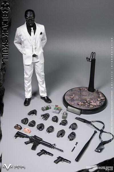 【VTS】VM-029 1/6 Black Skull ブラックスカル 1/6スケール男性フィギュア