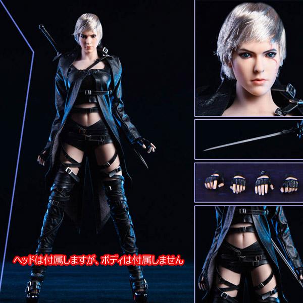【VICKY SECRET toys】VStoys 19XG47 1/6 The white Wolf 白狼刺客 1/6スケール 女性ヘッド&コスチュームセット