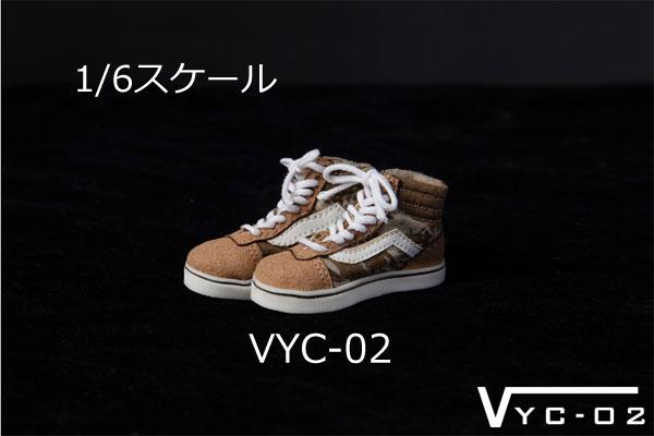 【VYC】VYC-01 02 03 Shoes 男性フィギュア用シューズ 1/6スケール スニーカー