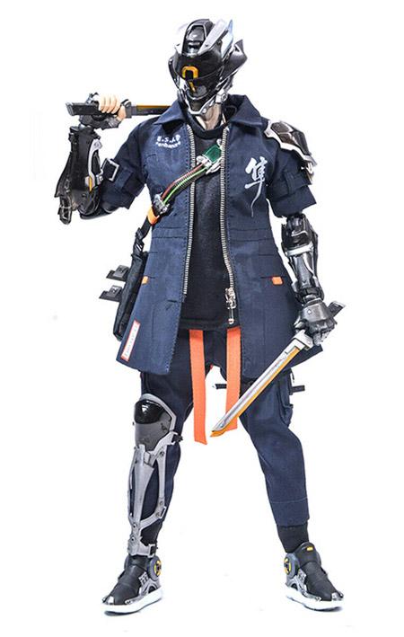 【WARHORSE Toys】1:6 Cyberpunk Techgear FALCON サイバーパンク テックギア ファルコン 機能特攻隊 隼 豪華版 1/6スケールフィギュア