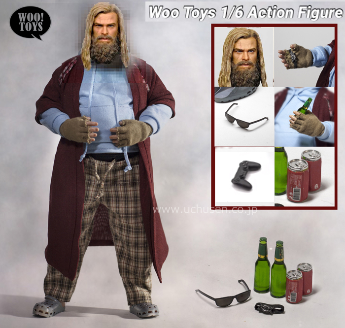 【WOO!TOYS】WO-004C Fat Vikings Full set 1/6スケール男性フィギュア