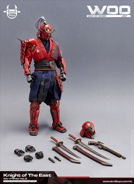 【Devil Toys】War of Order: Vol 03 - Knight of the East 1/6 Scale Action Figure 東方騎士 1/6スケールフィギュア