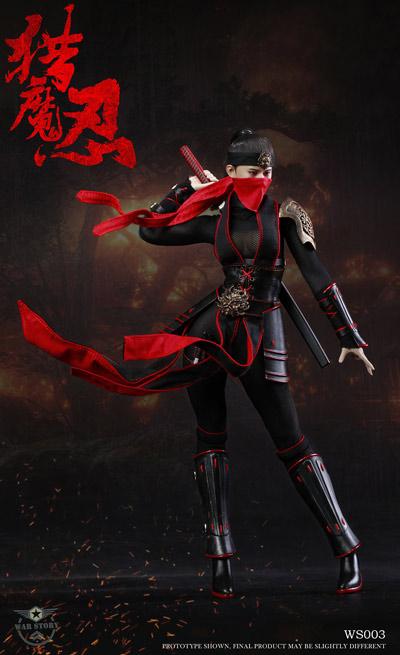 【WAR STORY】WS003 Female ninja 1/6 混沌乱世 女猎魔忍 舞 女忍者 くノ一 1/6スケール女性フィギュア
