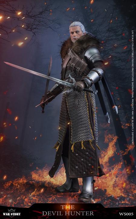 【WAR STORY】WS005 Hunting Demon Hunter Series DEVIL HUNTER デビルハンター 1/6スケール男性フィギュア