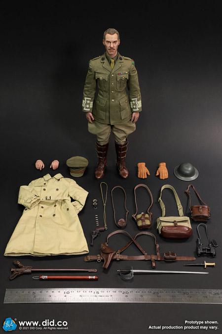 【DID】B11012 WW1 British Officer - Colonel Mackenzie