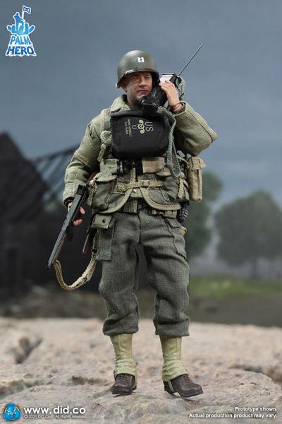 【DID】XA80010 1/12 PALM HERO WW2 US 2nd Ranger Battalion Series 1 - Captain Miller アメリカ陸軍 第2レンジャー大隊 ミラー大尉